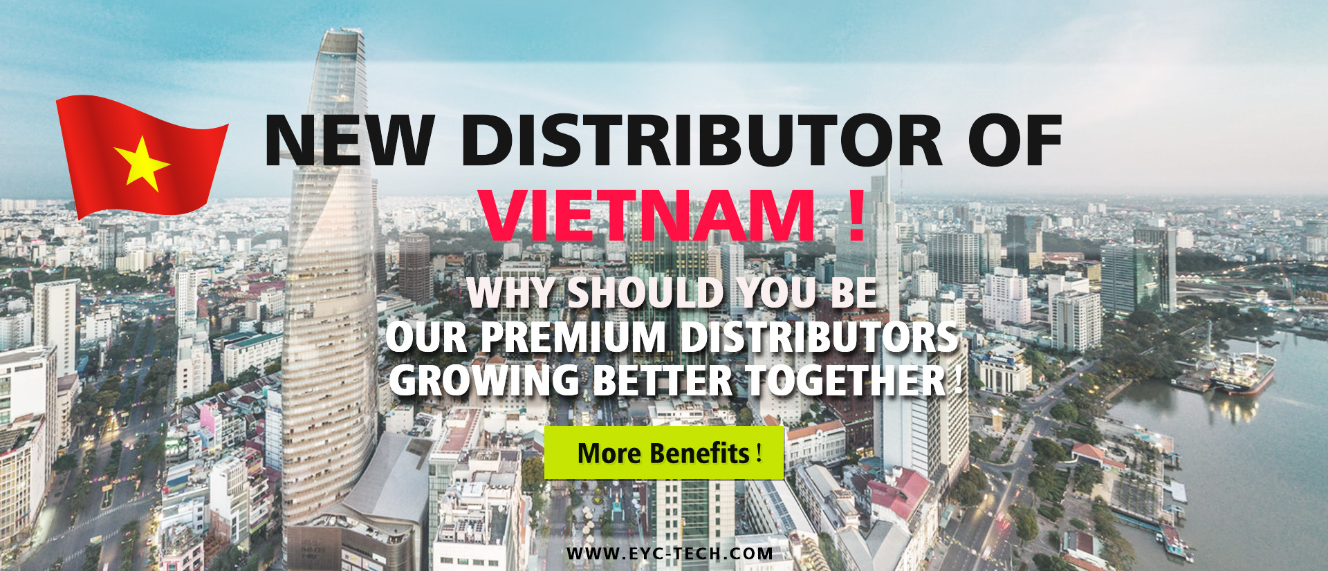 New Premium Distributor of Vietnam